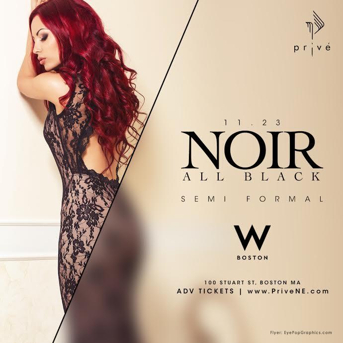 NOIR - All Black Formal (MA)