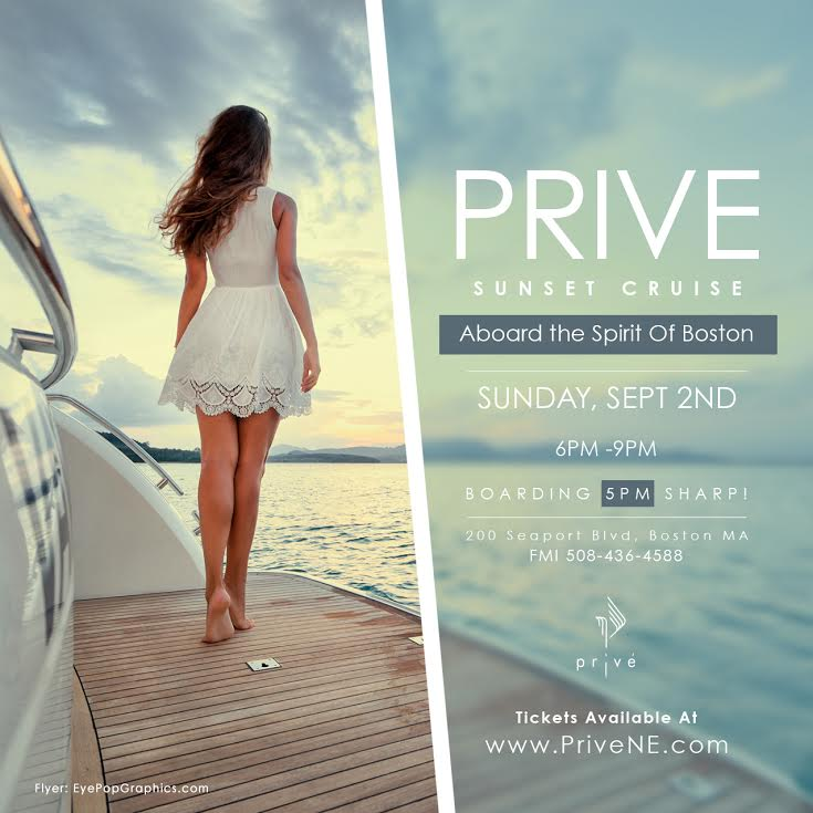 Prive Sunset Cruise   Yacht Party