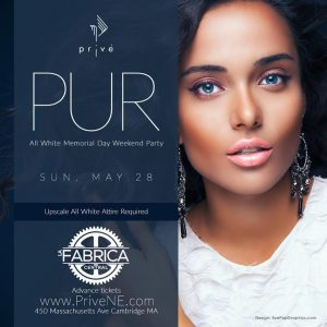 PUR - the ALL WHITE PARTY