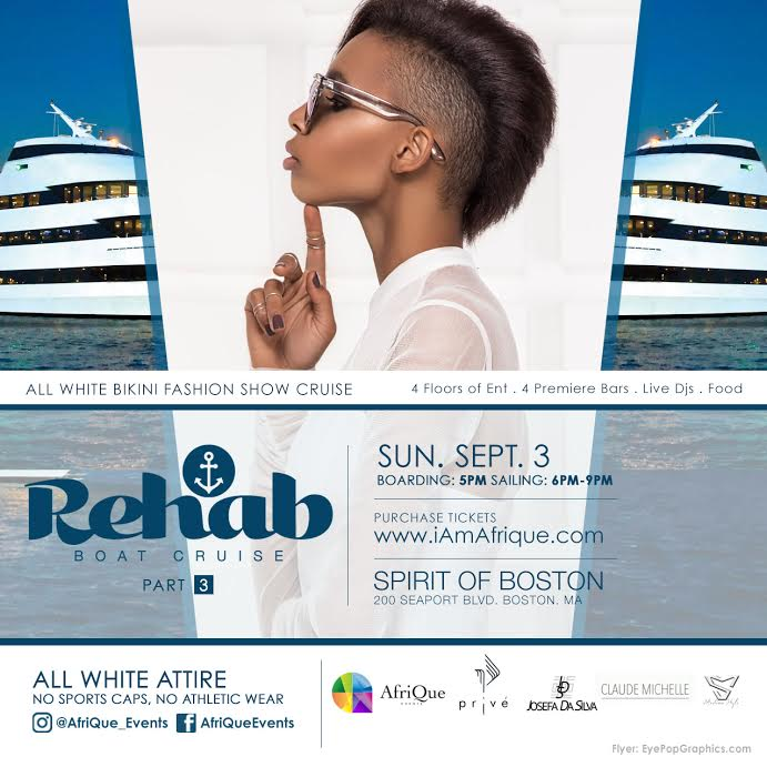 REHAB - ALL WHITE BOAT CRUSIE PARTY