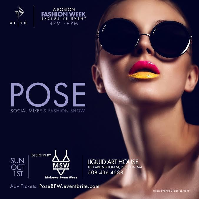 POSE - Boston Fashion Week Event 2017